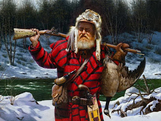 Vida Indigena Americana Pinturas Realistas