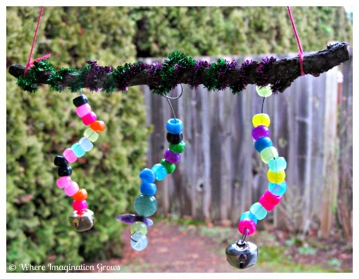 A mom 39 s rambles summer activities for the entire family for Homemade wind chimes for kids