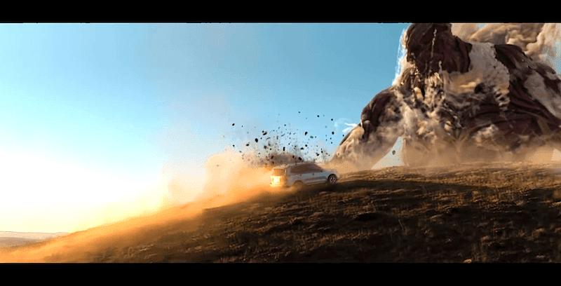 「進撃の巨人」×「スバル・フォレスター」コラボCMの再生回数が1000万回を突破