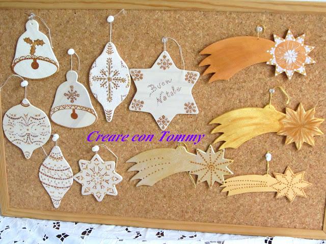 Creare con tommy natale decorazioni natalizie in legno - Creare decorazioni per natale ...