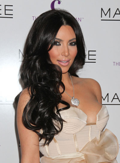 hairstyles of Kim Kardashian Hair Picture - Celebrity Hairstyle