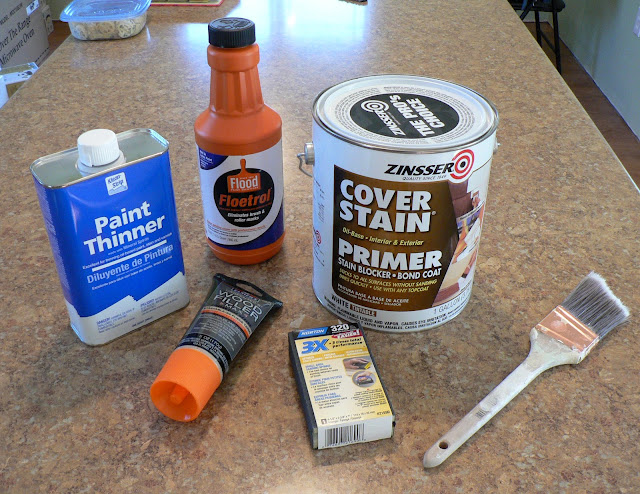 Paint Furniture - Supplies
