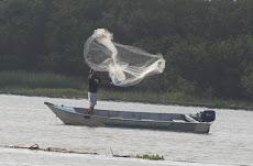 O pescador - Barra da Ribeira-SP