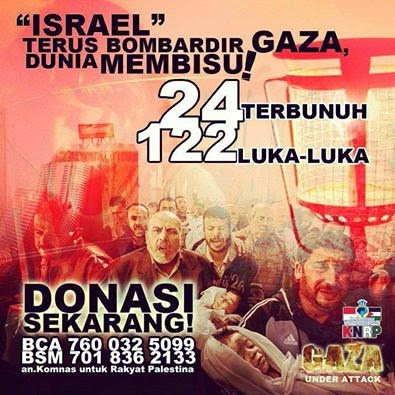 Donate For Gaza Palestine KNRP