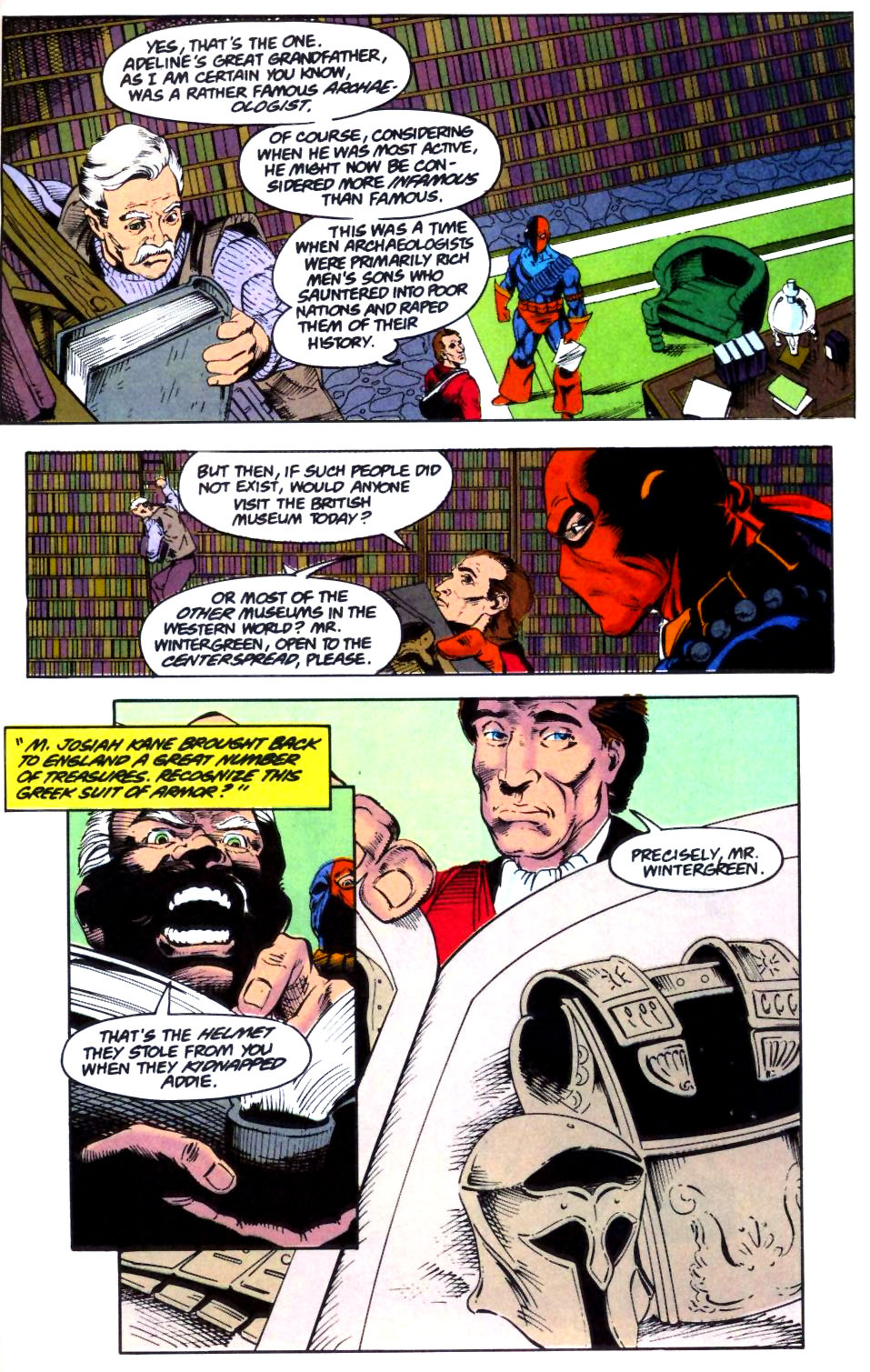 Deathstroke (1991) Issue #28 #33 - English 14