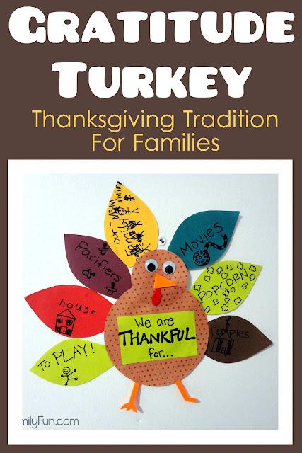 Little family fun gratitude turkey 2012 thanksgiving Fun family thanksgiving games
