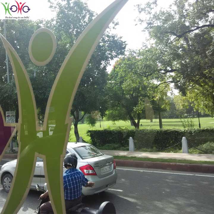 India gate circle delhi