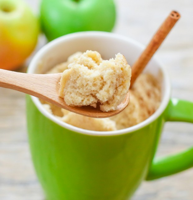 Skinny Apple Spice Mug Cake Kirbie