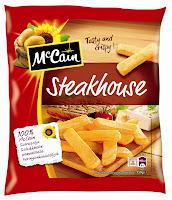McCain pommes frites steakhouse frites