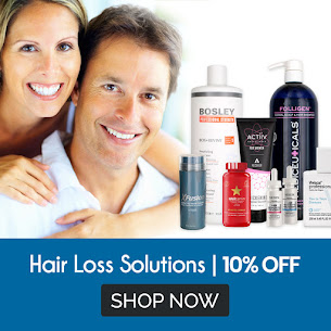 10% Off Best Solutions for Hair Loss