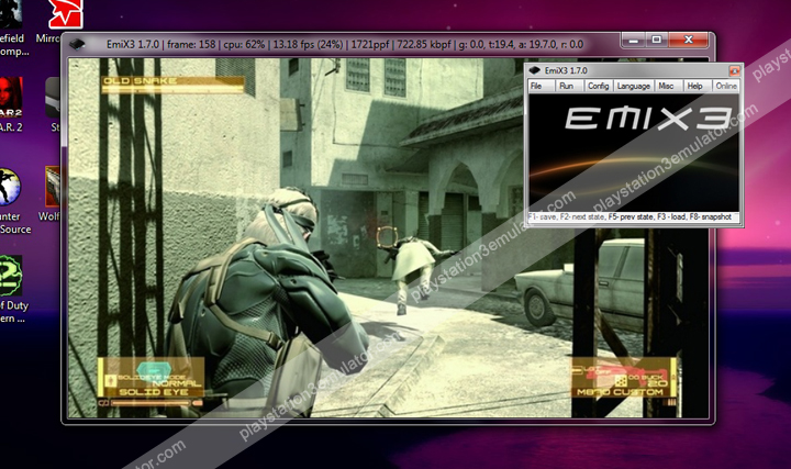 Emulators for ps3