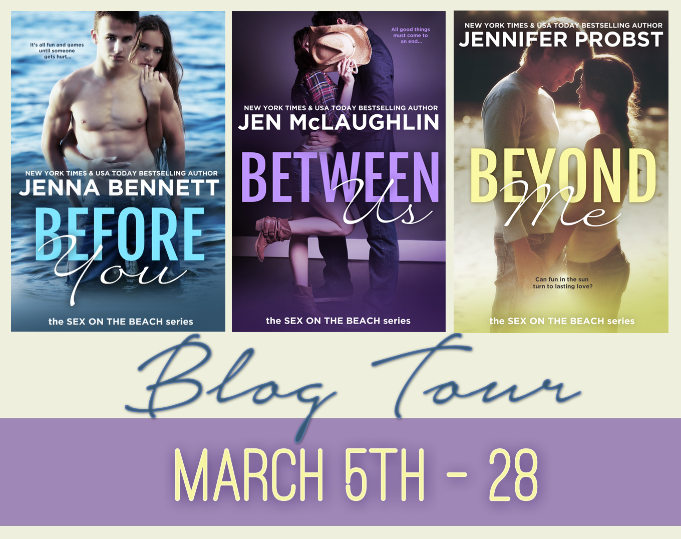 Sex on the Beach Blog Tour