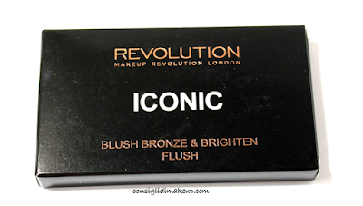 Review: Iconic Blush, Bronze & Brighten Flush - Makeup Revolution