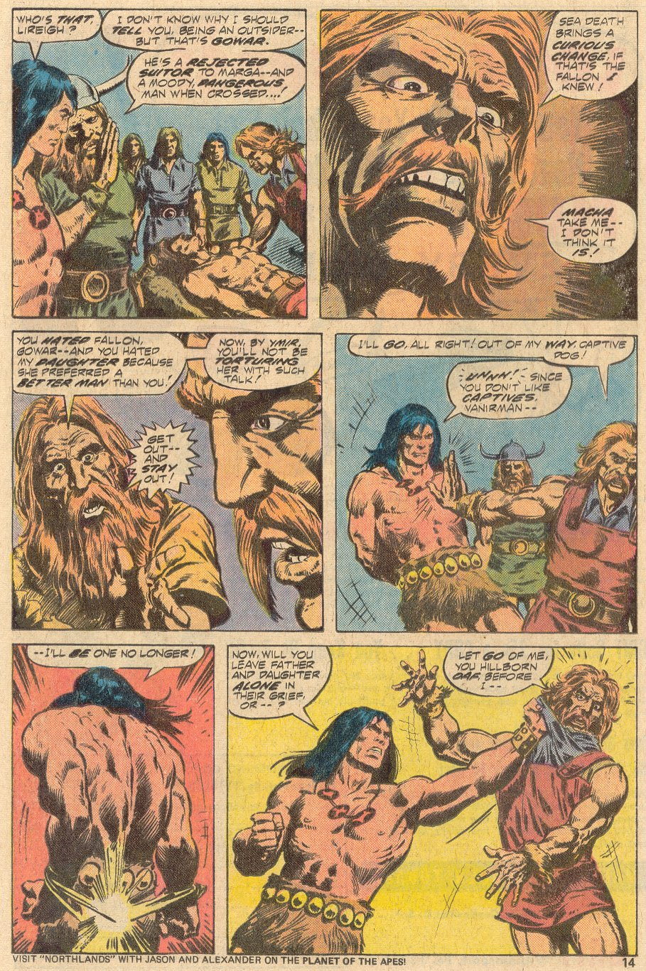 Conan the Barbarian (1970) Issue #69 #81 - English 9