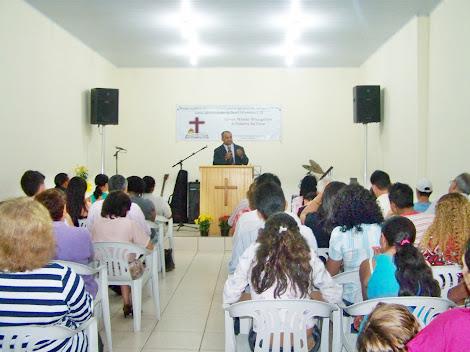 24/09/11 - Presbítero Jesuino ministrando a Palavra