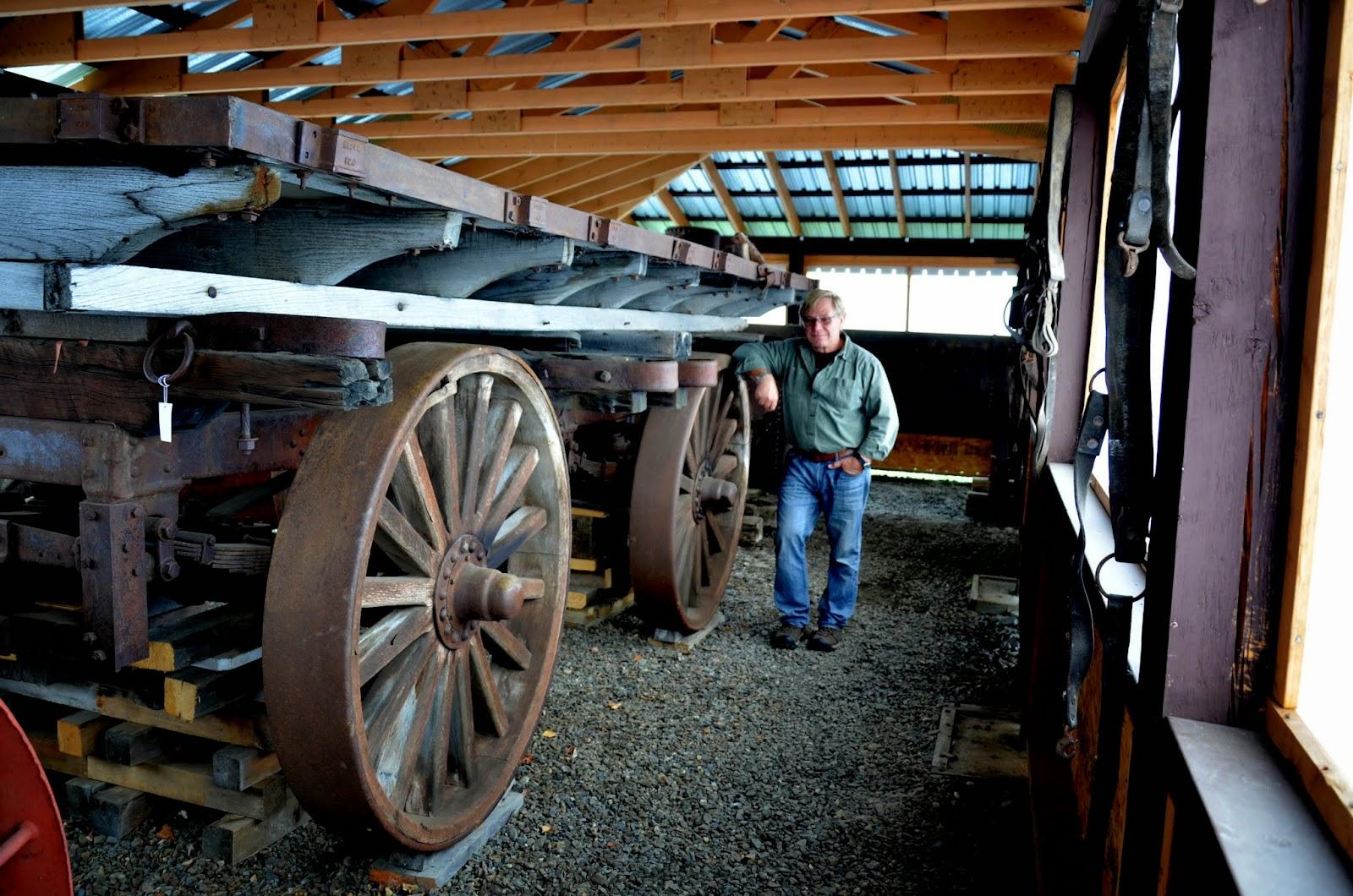 An old wagon