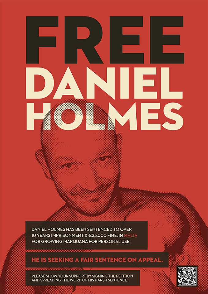 Free Daniel Holmes | Temper Justice With Mercy