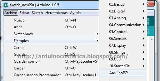 Cargando Bootloader 328p Blog de PatagoniaTec