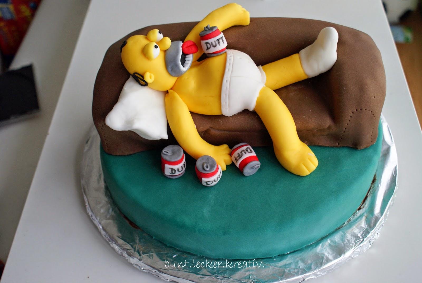 homer simpson torte