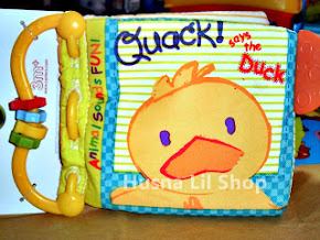 Carter's Teether Soft Book - Quack Says the Duck