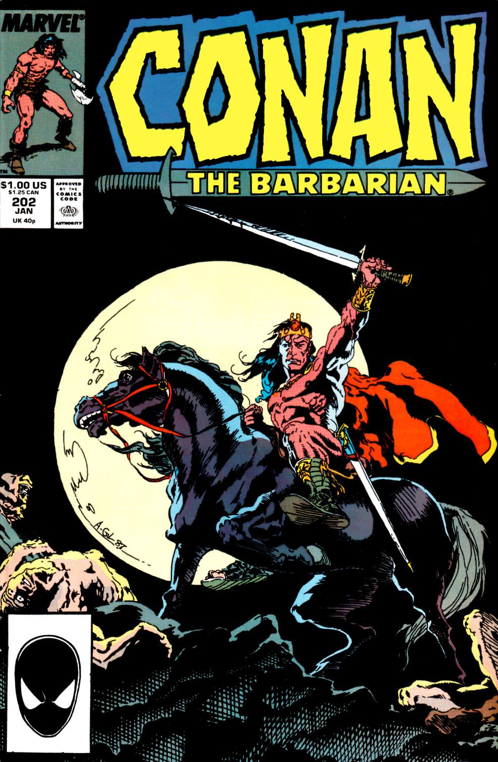 Conan the Barbarian (1970) Issue #202 #214 - English 1