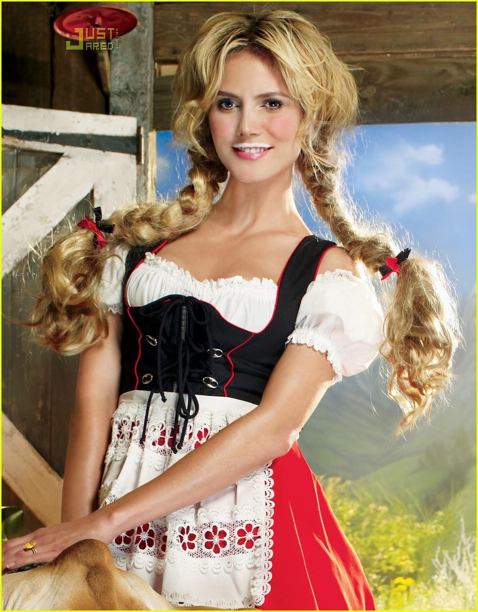 Heidi Klum Heidi Klum Got Milk Ad
