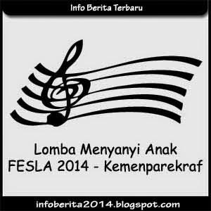 Lomba Menyanyi Anak-anak - FESLA 2014