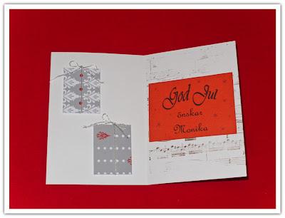Julkort prototyp med notstämpel, variant 2