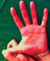 Dedo Pulgar en oposición al resto de la mano