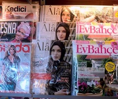 بالصور...مجلة تركية للمحجبات تتصدى لصور البكيني والنساء العاريات
