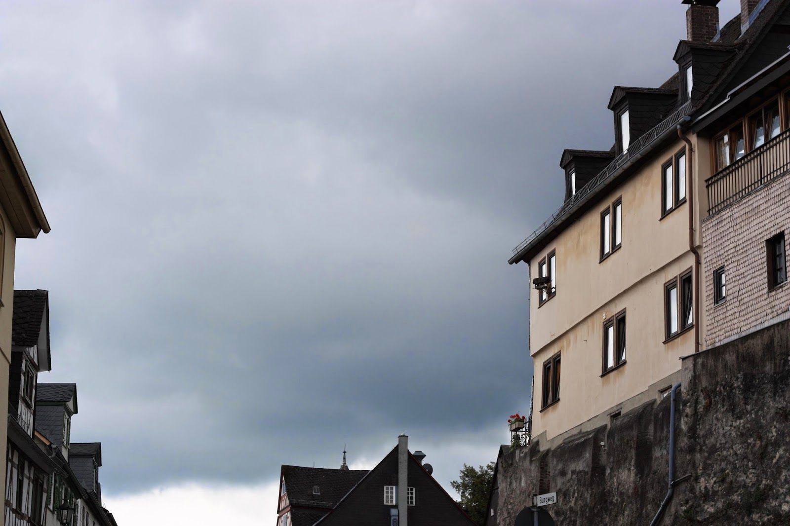 dark skies over Braunfels, Germany