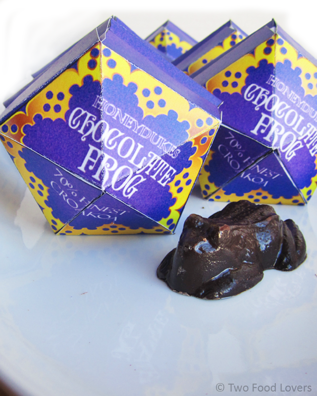 Harry Potter Chocolate Frog & Boxes