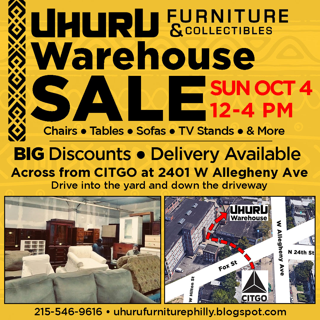 Warehouse Sale Sun. Oct 4th 12-4pm