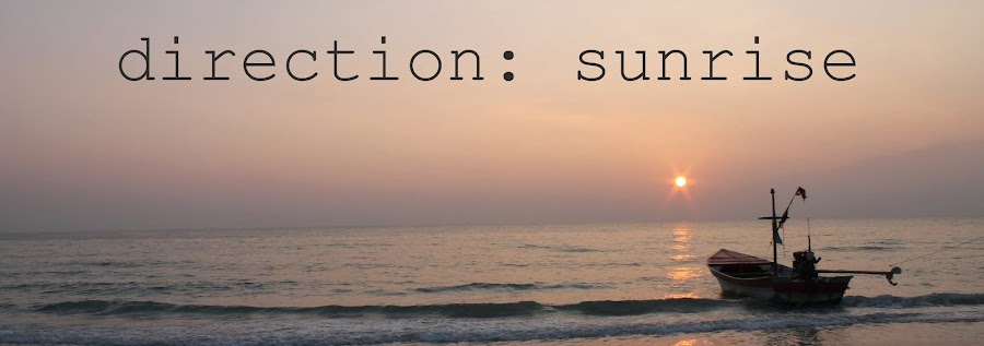 Direction: sunrise