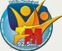 ouvir a Rádio Municipal FM 92,5 Quedas do Iguaçu PR