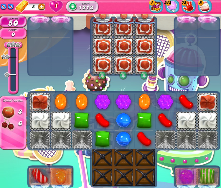 Candy Crush Saga 1213