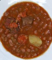 Elcalderonazari recetas alubias rojas de tolosa - Alubias rojas con costilla ...