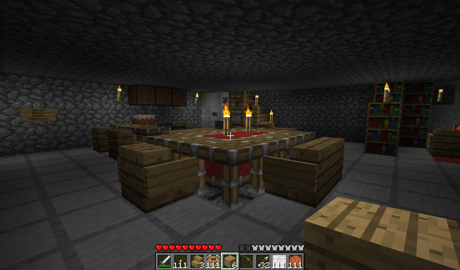 Minecraft table top hd wallpapers for Minecraft coffee table