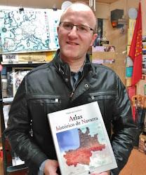 "Eneko del Castillo, ""Atlas histórico de Navarra"" (Pamiela)"