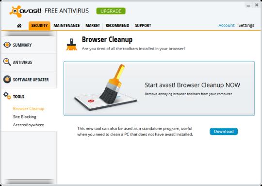 free avast antivirus 2013  for windows 7