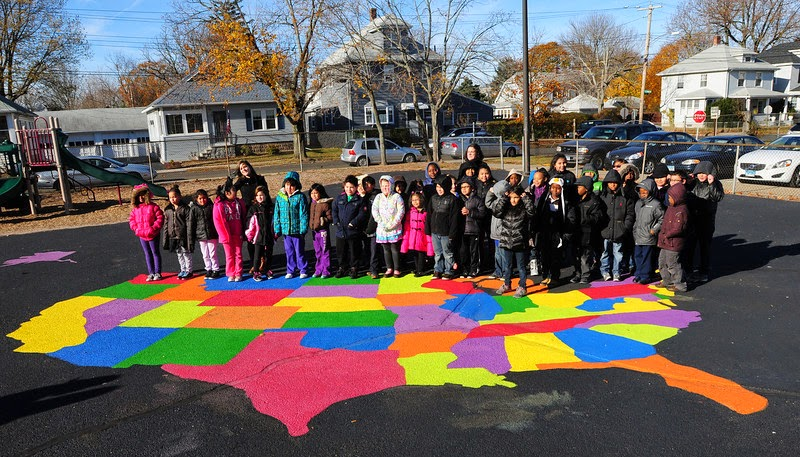 Peaceful Playgrounds Recess Doctor Blog US Map added to Savin