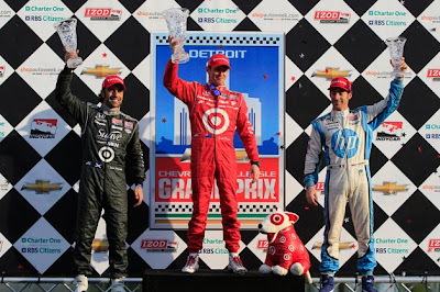 IndyCar's return to Detroit's Belle Isle Grand Prix comes apart at the seams