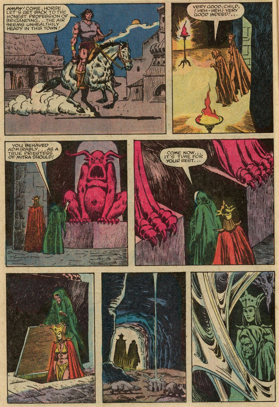 Conan the Barbarian (1970) Issue #147 #159 - English 11
