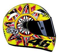 Rumitnya pembuatan helm AGV untuk The Doctor