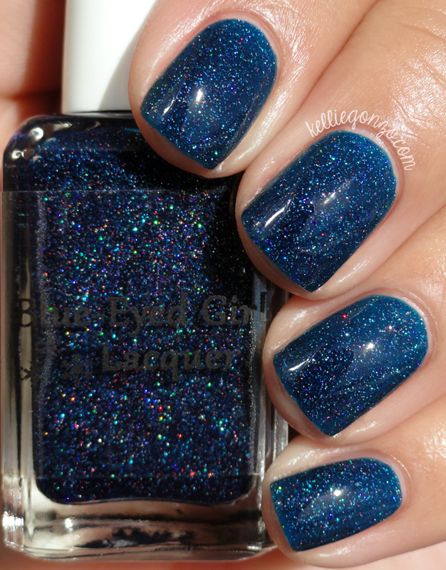Blue-Eyed Girl Lacquer Bound to the City Life
