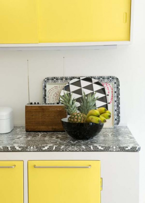 Cómo Decorar la Cocina con color Amarillo   Cómo Diseñar Cocinas ...