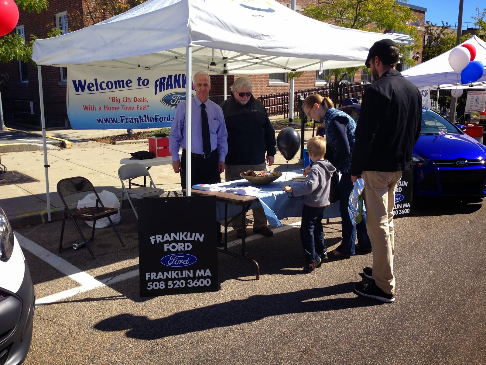 Franklin Downtown Partnership Record Crowds in Downtown Franklin Sunday