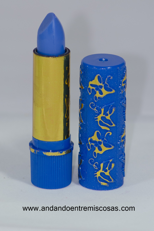 Pintalabios marroquí azul