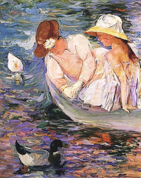 Jerseylil 39 s 2 cents summer art visual chicken soup for for In their paintings the impressionists often focused on