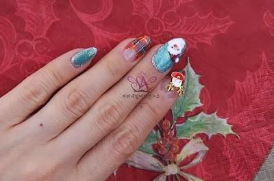 Rudolph nail art
